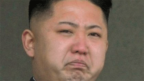 Kim Jong Un Looking Constipated